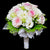 Bridal bouquet in bridal holder (WD39)