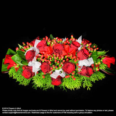Long Table Arrangement - Flowers-In-Mind