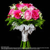 Bridal bouquet in natural stem (WD57) - Flowers-In-Mind