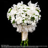 Bridal bouquet in natural stem (WD78) - FLOWERS IN MIND