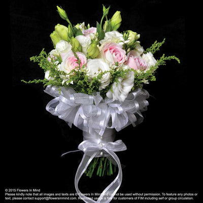 Bridal bouquet in natural stem (WD82) - Flowers In Mind
