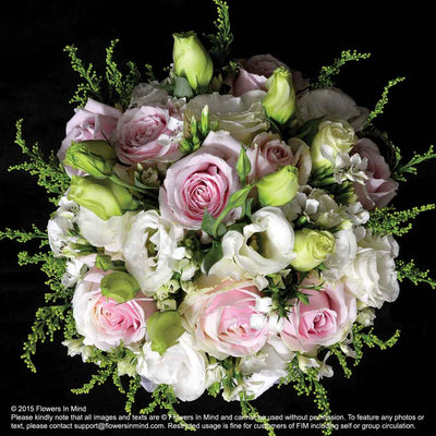 Bridal bouquet in natural stem (WD82) - Flowers-In-Mind
