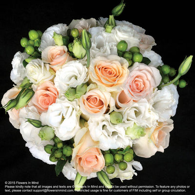 Bridal bouquet in natural stem (WD86) - FLOWERS IN MIND