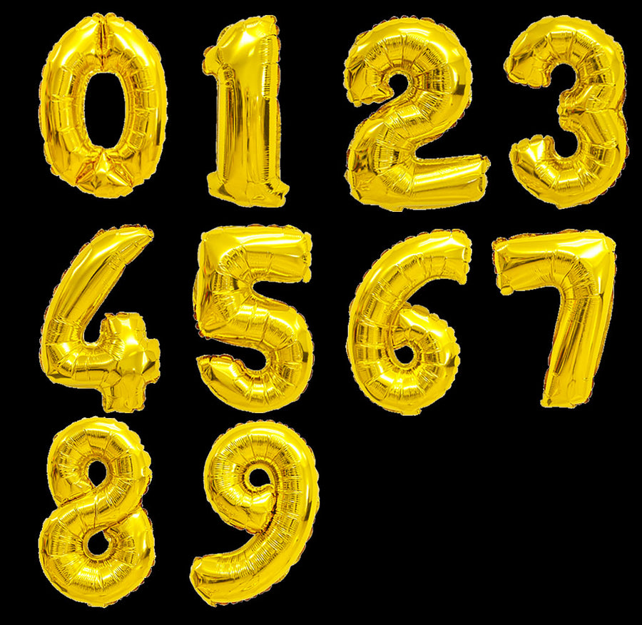 balloon online store singapore gold number 0 to 9