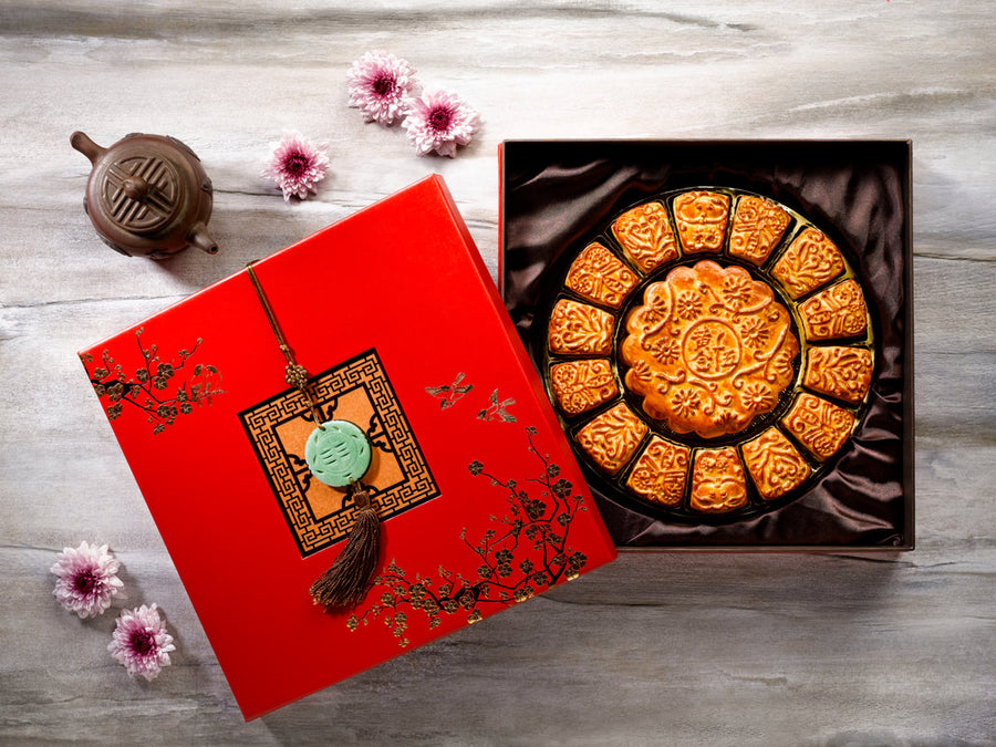 THE FULLERTON BAKED CLASSICS MOONCAKES - Flowers-In-Mind