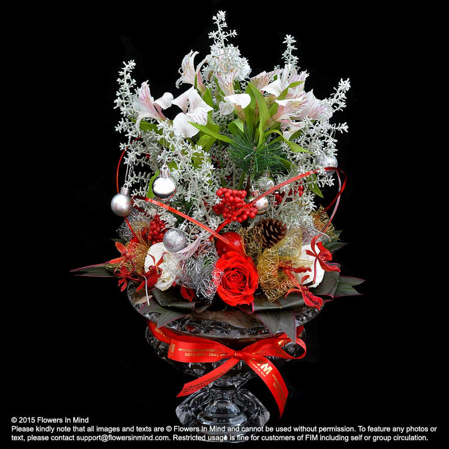 Grand Dazzling Christmas Table Arrangement (XMAS17)
