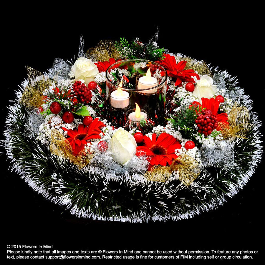 Christmas Table Arrangement (XMAS29)