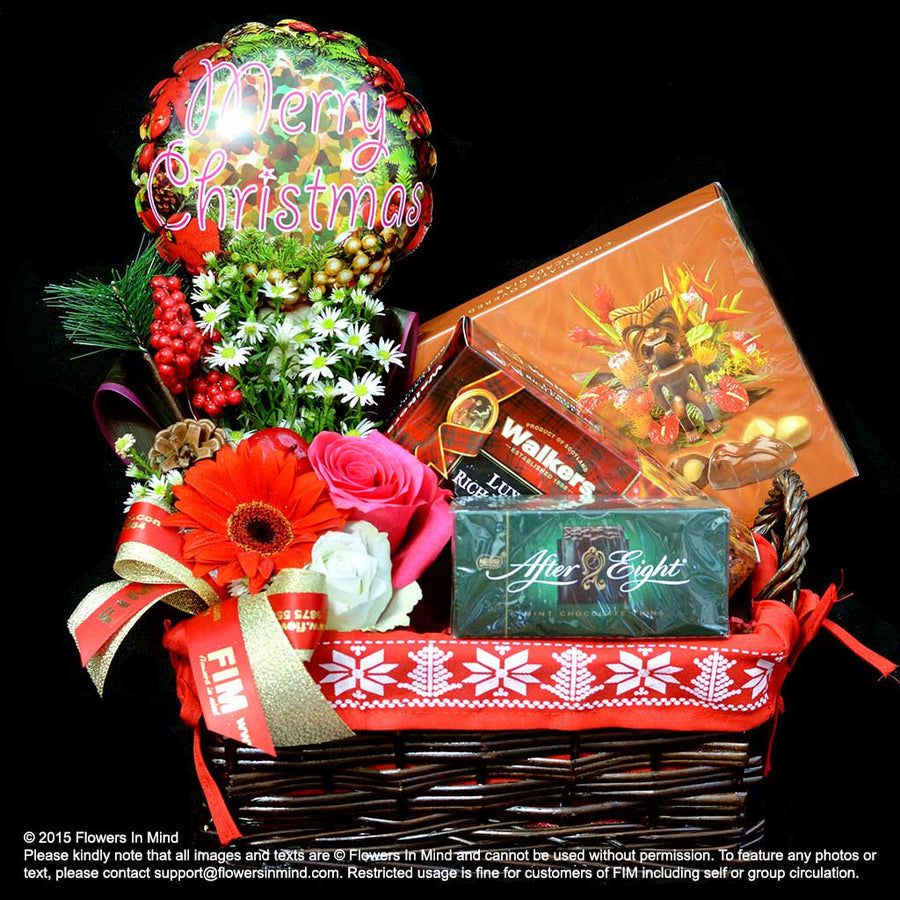 Christmas Hamper (XMAS32) - Flowers-In-Mind