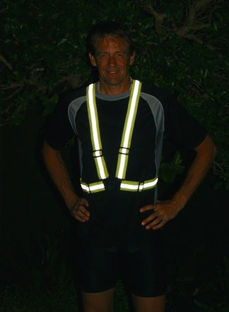 Reflective clothing for runners