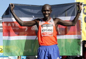 BARCELONA - FEB,2: Kenyan Wilson Kipsang, Current world record h