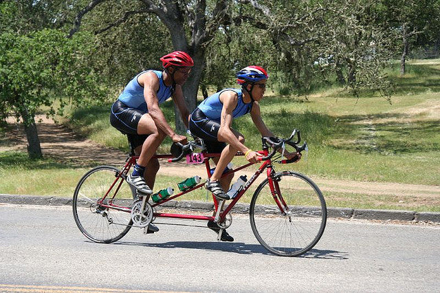 tandem cycling blind