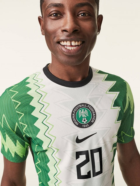 Nigeria 2020 home and away jerseys