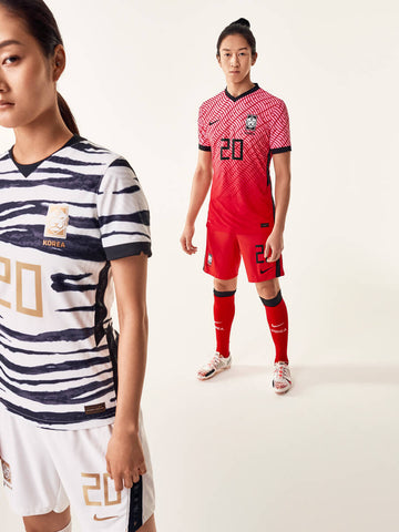 South Korea home and away jerseys for 2020