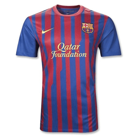 Barcelona 11/12 Home Classic edition  Jersey  Personalized Name and Number