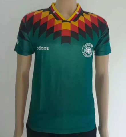 Germany 1994 away Men Soccer Retro Jersey Personalized Name and Number
