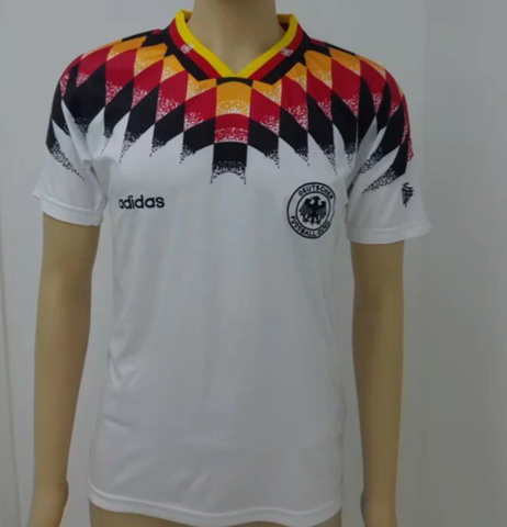 Germany 1994 home  Men Soccer Retro Jersey Personalized Name and Number
