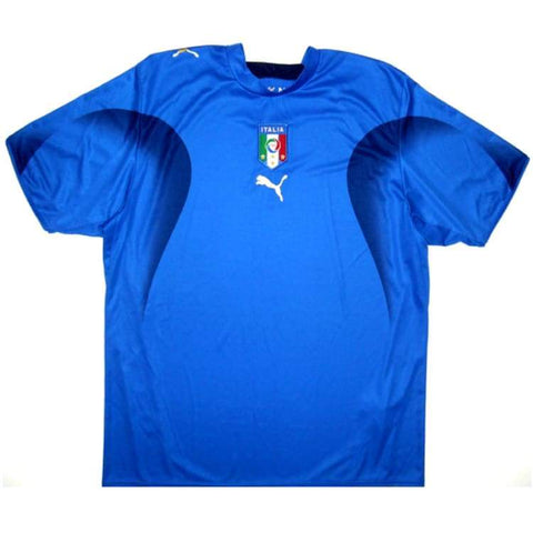 Italy 2006 Home Retro Jersey Personalized Name and Number - zorrojersey
