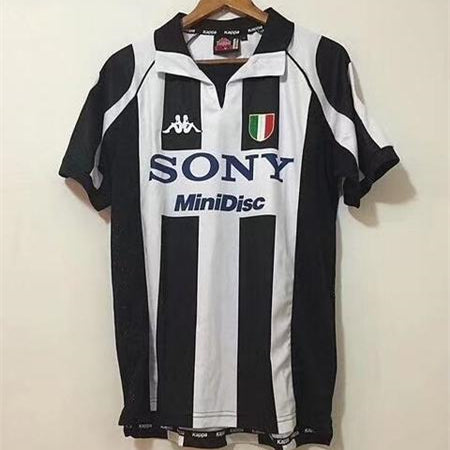 new arrival 739be 64e96 Juventus 97/98 Home Retro Men Soccer Jersey Personalized Name and Number