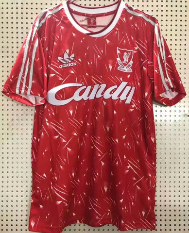 LFC 1989 Home Men Soccer Retro Jersey Personalized Name and Number