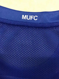 Manchester United 07/08 Third Blue Men Soccer Jersey Personalized Name and Number