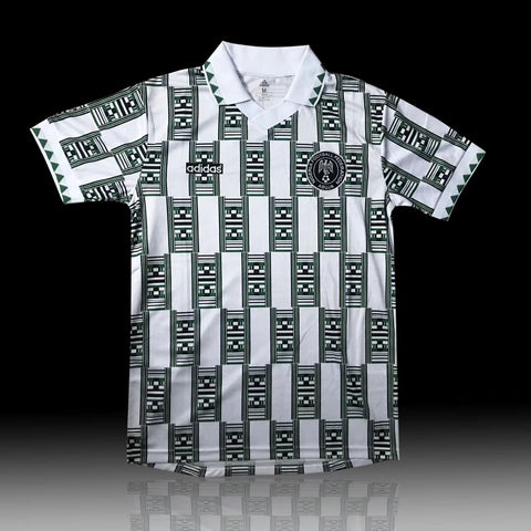 Nigerian 1994 World Cup  Retro Jersey Personalized Name and Number