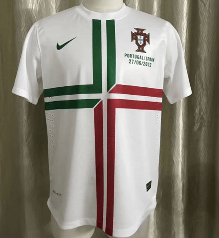 Portugal 2012 Away Retro Match  Soccer  Jersey Personalized Name and Number - zorrojersey