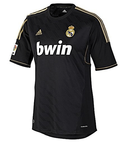 Real Madrid 2012 Away Retro Men Soccer Jersey Personalized Name and Number - zorrojersey