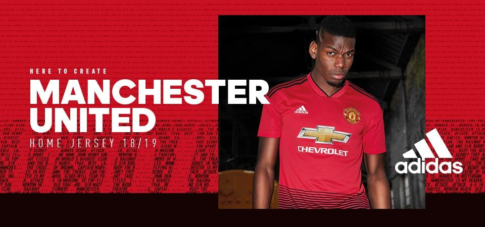Manchester United 2017/18 Men Soccer Jersey