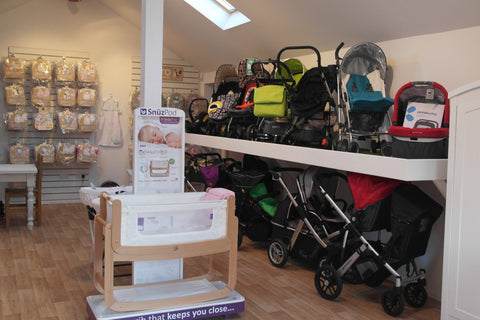 Just Another Baby Showroom at Topsham near Exeter