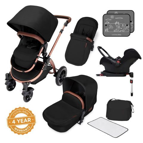 Ickle Bubba Stomp V4 Travel System - Special Edition Midnight Bronze - End of June Delivery
