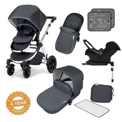 Ickle Bubba Stomp V4 Travel System - Special Edition Blueberry Chrome
