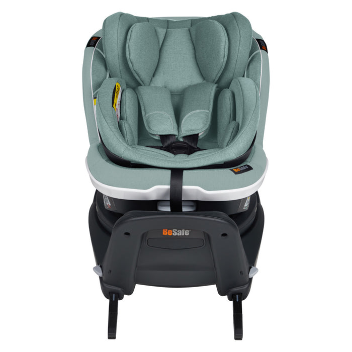 BeSafe iZi Twist B i-Size Car Seat - Sea Green Melange - Low Stock