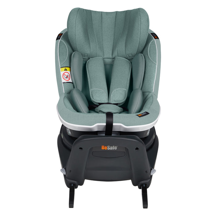 BeSafe iZi Twist i-Size Car Seat - Sea Green Melange - Low Stock