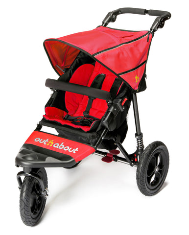 Out n About Nipper 360 Single V4 Carnival Red