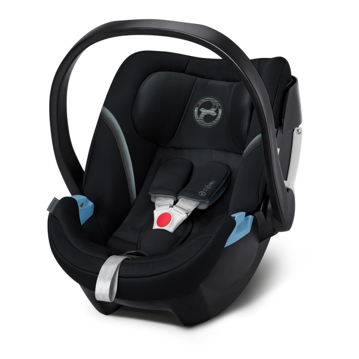 Cybex Aton 5 Infant Car Seat - Deep Black - Delivery Mid November