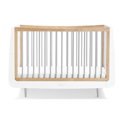 SnuzKot Cot Bed - Skandi Grey - Available Late February