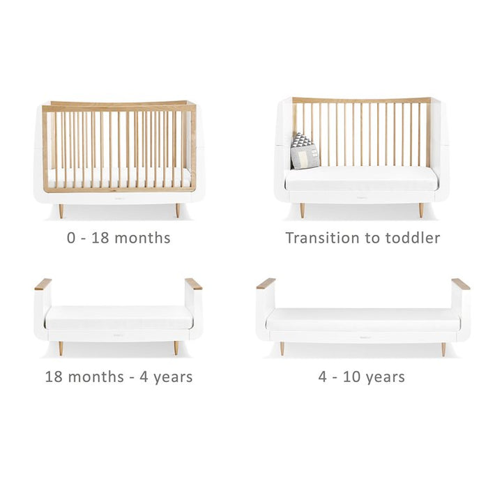 SnuzKot Cot Bed - Skandi Natural -  Early August Delivery