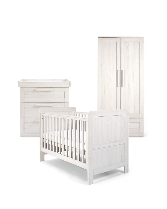 Mamas & Papas Atlas 3 Piece Room Set - White - Early November  Delivery