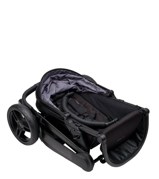 Bababing Raffi Travel System 10 Piece Bundle with Car Seat - Black