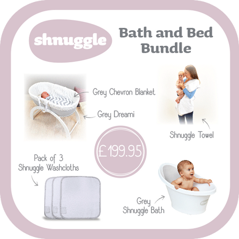 Shnuggle Bed and Bath Bundle