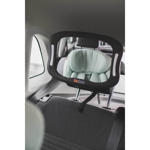 Besafe Baby Mirror Xl With Lights Just Another Baby