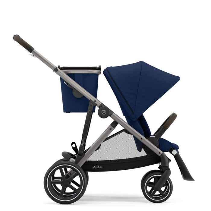 Cybex Gazelle S Pushchair - Taupe Chassis/Navy Blue