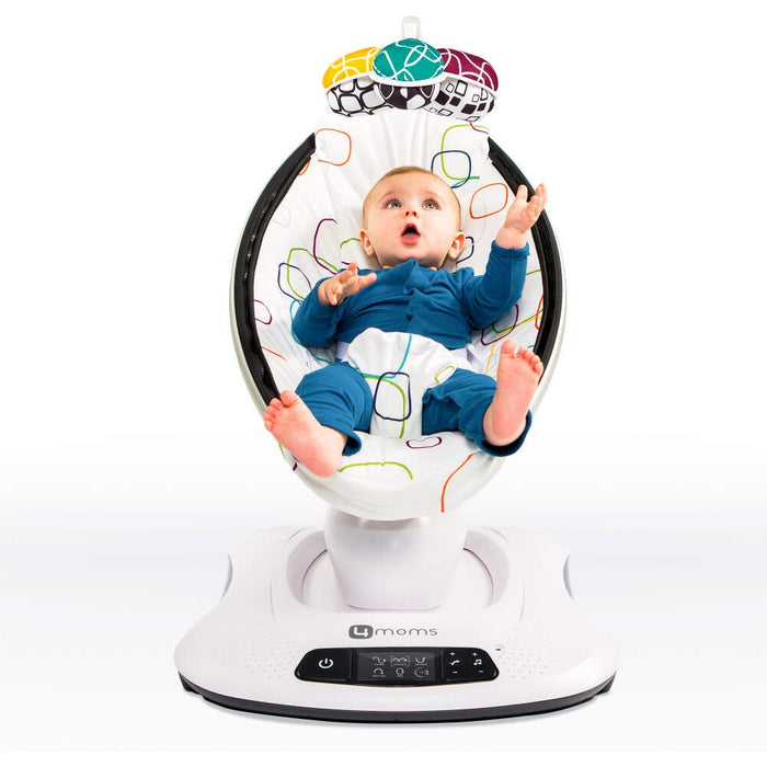 4Moms MamaRoo Bouncer Silver Plush