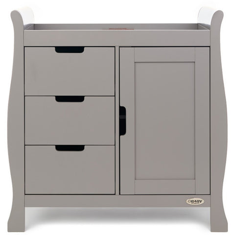 OBaby Stamford Changing Unit - Taupe Grey Pre-Order September