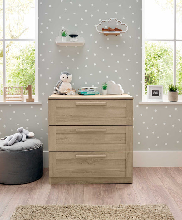 Mamas & Papas Atlas Dresser Changer - Light Oak