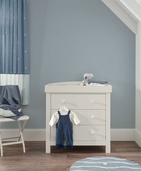 Mamas & Papas Dover Dresser Changer - White - July Delivery