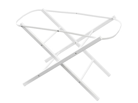 Mose Basket Folding Stand - White
