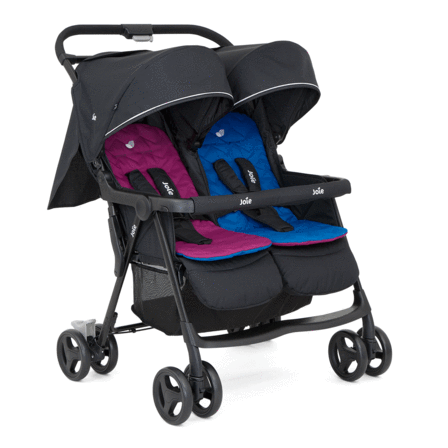 Joie Aire Twin Stroller Rosy/Sea