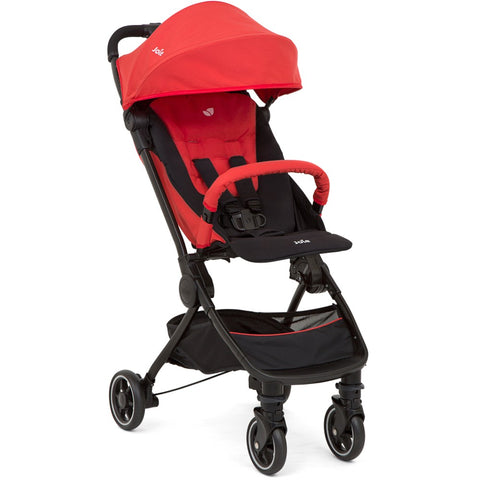 Joie Pact Lite Stroller Lychee includes Rain Cover