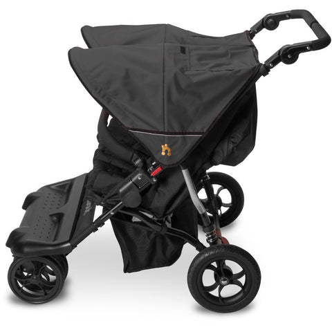 Out n About Little Nipper Double - Jet Black - Delivery Late April